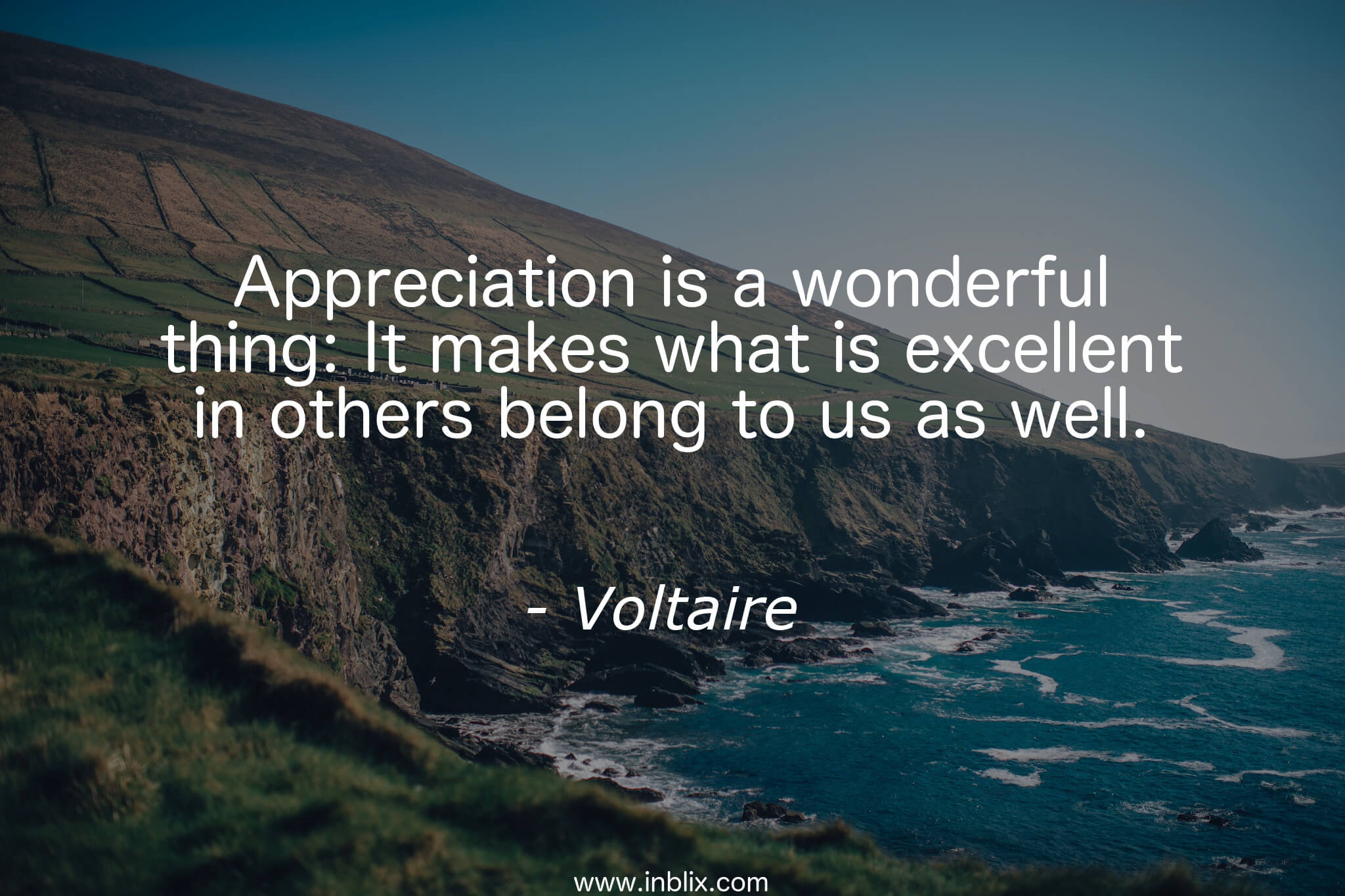 Quotes Voltaire Appreciation Is A Wonderful Thvoltaire  Inblix