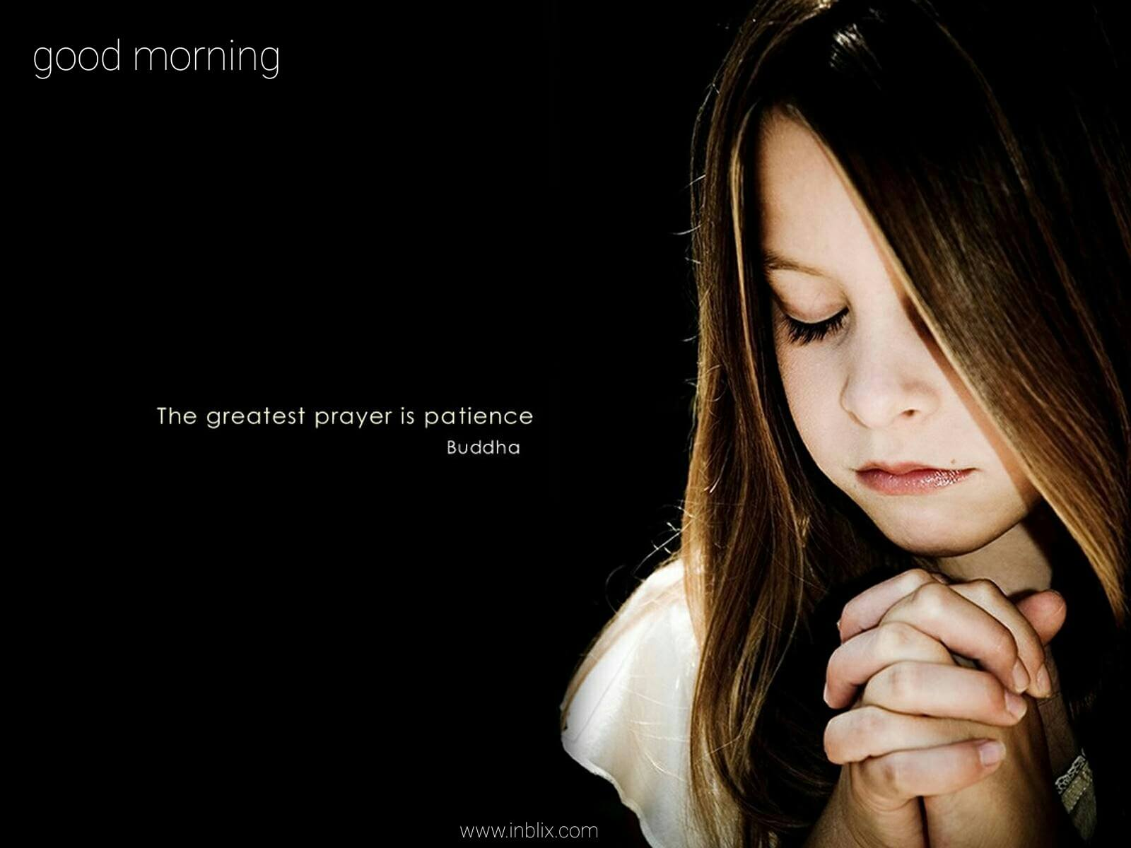 The greatest prayer is patienc by buddha inblix the greatest prayer is patience thecheapjerseys Images