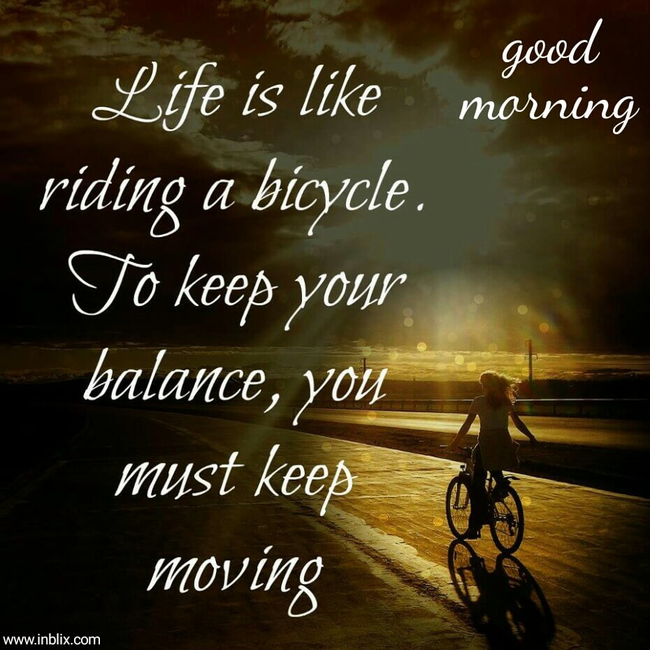 Image result for good morning looking for balance in life