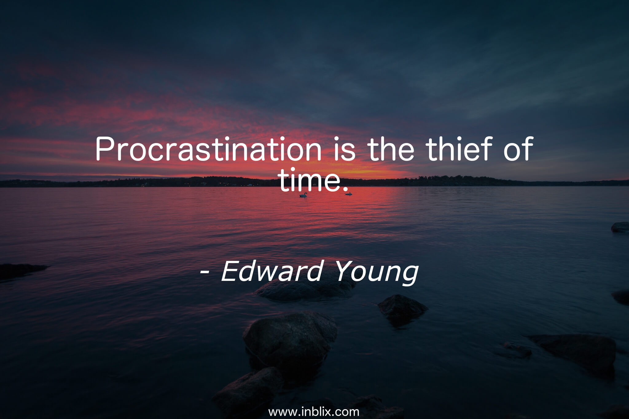 Procrastination is the thief of time essay