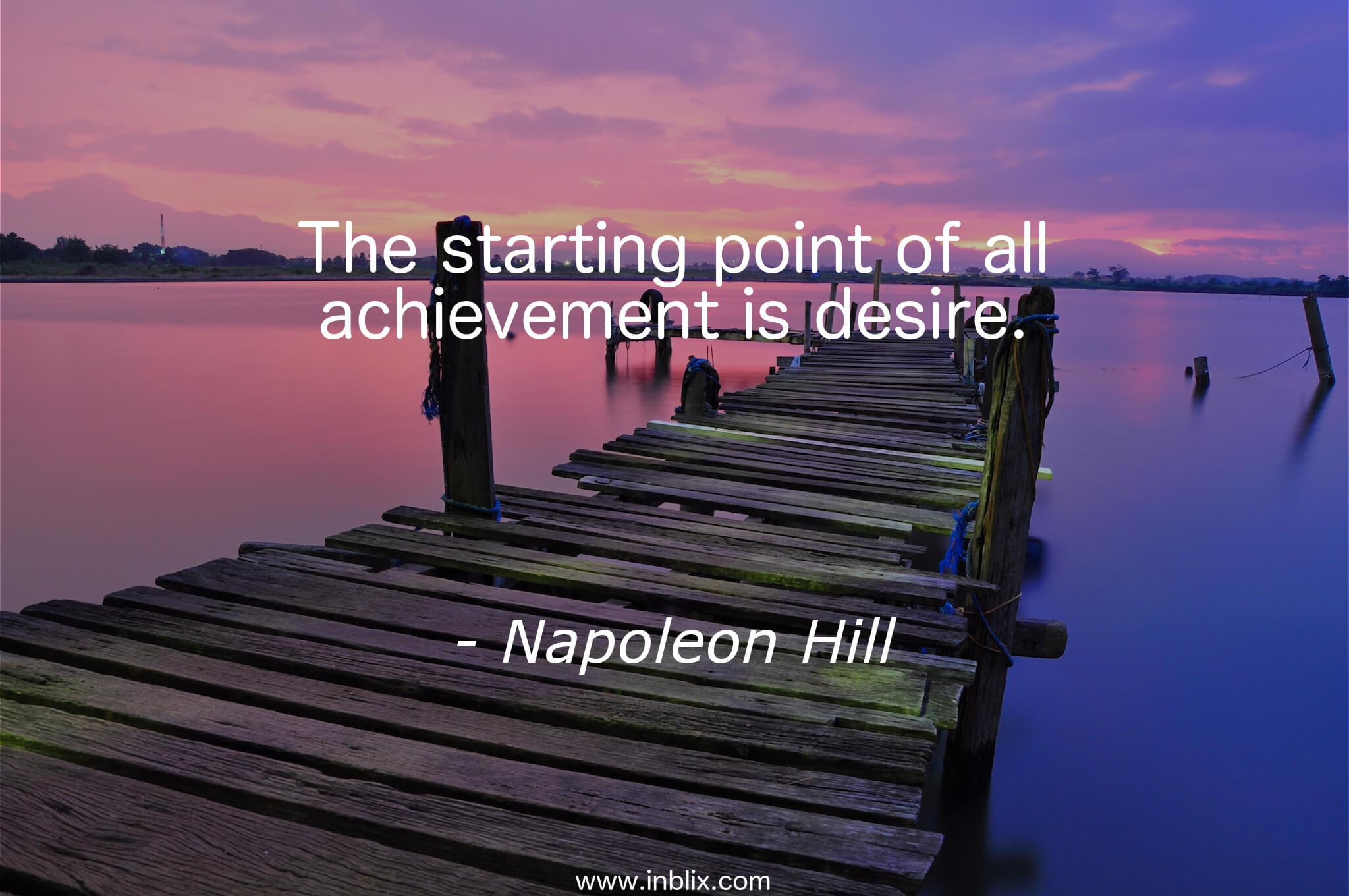 achievement of desire 2